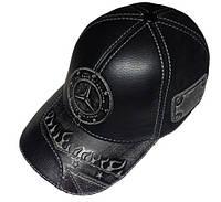 Модель №281 Кожаная кепка бейсболка Mercedes-Benz