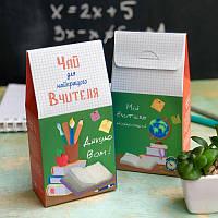 """Чай Учителю в подарочной упаковке """"Вчителю"""" 50 г"""