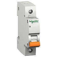 Автоматический выключатель Schneider ВА63 1п 25A тип С 1 полюсный