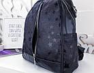 Женский рюкзак-сумка черного цвета, из эко кожи, фото 8