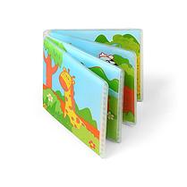 """Книжка для ванной Baby Ono """"Wild Animals"""" с пищалкой, 15,5 x 15 см"""