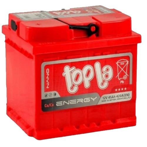 АКБ 6 ст 45 А (420EN) (1) Topla Energy