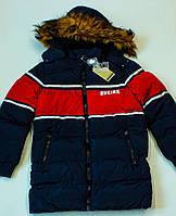 Зимова куртка на хлопчика (ріст 134.140.146.152.164.170164 см)