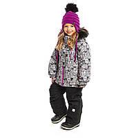 Зимний термокостюм NANO для девочки 1-7 лет (куртка и брюки, 75-127 см) ТМ Nanö F19M294, фото 1