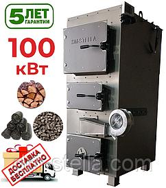 Твердотопливный котел 100 кВт DM-STELLA (двухконтурный)