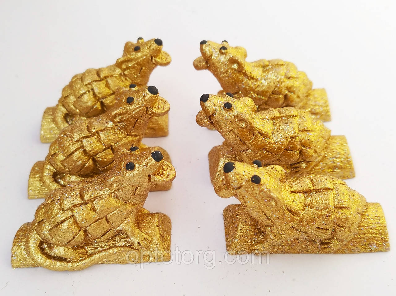 Статуэтки сувениры Мышка малютка 2,5*3,5*1,5 см