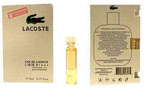 Lacoste L.12.12 Blanc - Parfume Oil with pheromon 5ml
