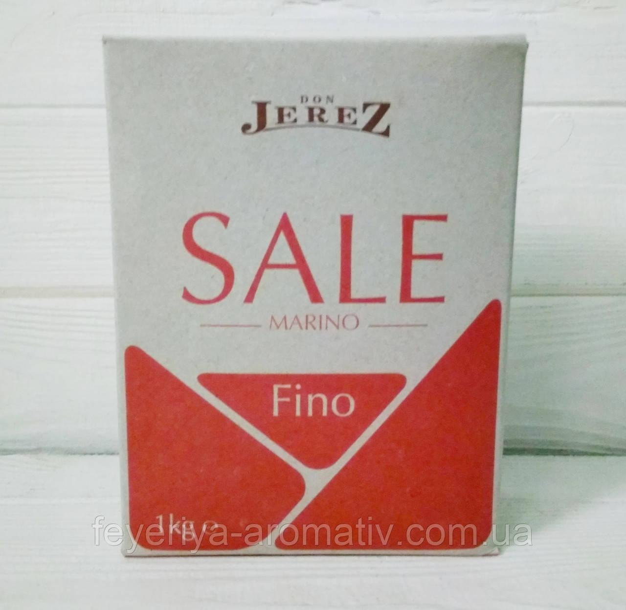 Мелкая морская соль Don Jerez Sale Marino Fino 1кг (Италия)