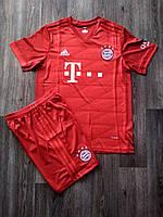 Детская футбольная форма Бавария сезон 2019-2020 основная красная, фото 1