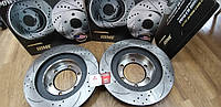 Тормозные диски ПЕРЕД Toyota Land Cruiser Prado 120 Lexus GX460 2003-2009