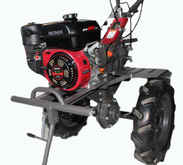 Мотоблок WEIMA WM1100С-6,  4+2 скорости, бенз 7,0л.с.,ручной стартер,  4,00-10 + БЕСПЛАТНАЯ ДОСТАВКА ПО УКРАИНЕ