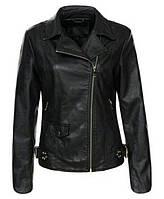 Куртка glo story женская черная косуха