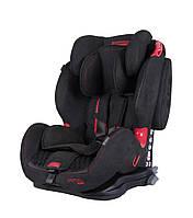 Детское автокресло Coletto Sportivo Isofix New Black ( группа 1/2/3 9-36 кг)