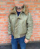 ALPHA INDUSTRIES N-2B Parka куртка бомбер ОРИГИНАЛ (M-L) СОСТ.ИДЕАЛ