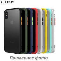 Силиконовый чехол LikGus Maxshield для Samsung Galaxy Note 10 (выбор цвета)