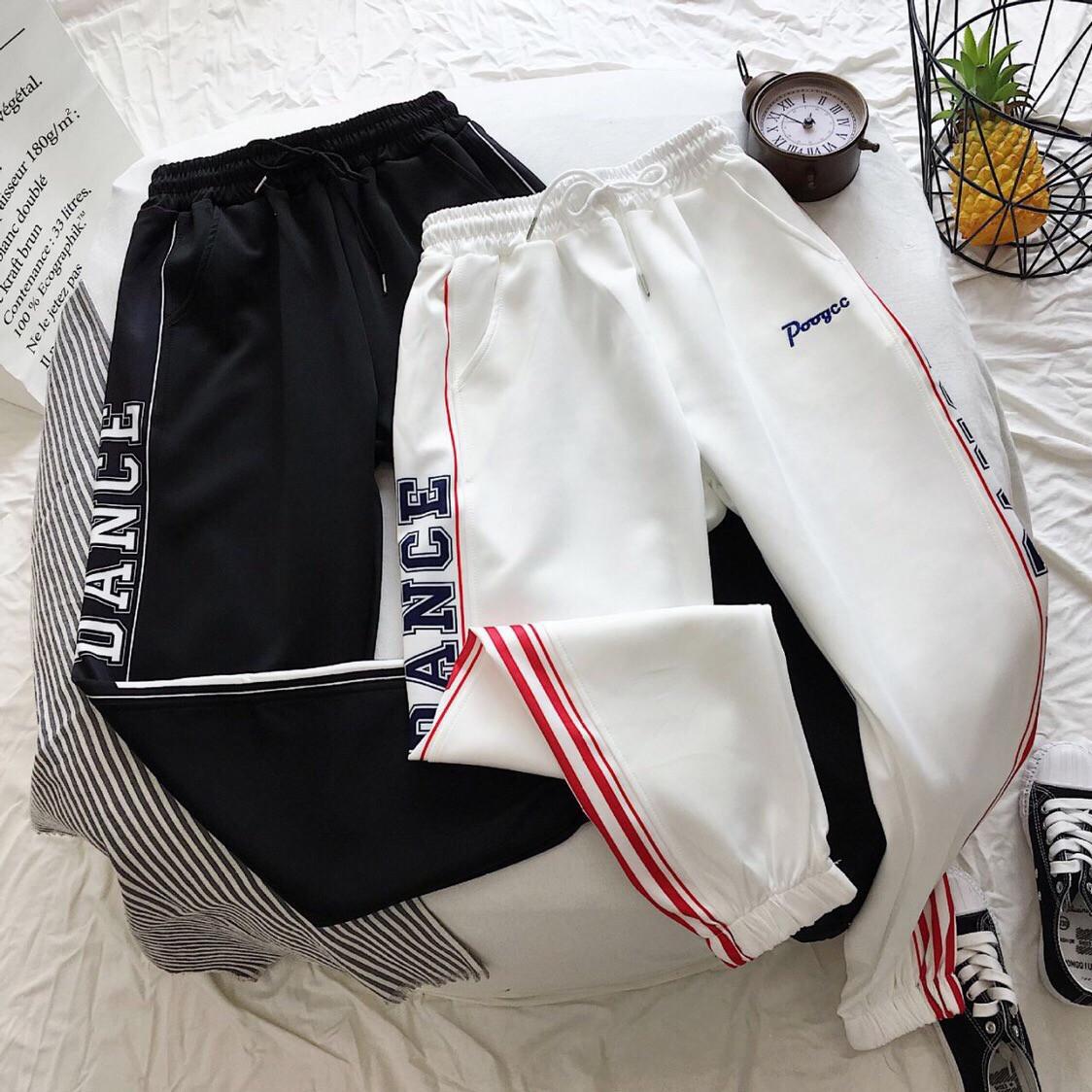 Женские спортивные штаны на манжетах с лампасами vN3491