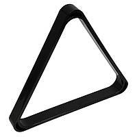 Треугольник для снукера УСИЛЕННЫЙ пластик черный ø52,4 мм