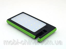 DLS16 Power Bank 54000mAh Solar Charger с солнечной панелью LED светильником  прожектором , зеленый, фото 3