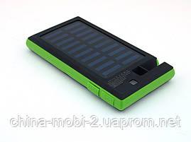 DLS16 Power Bank 54000mAh Solar Charger с солнечной панелью LED светильником  прожектором , зеленый, фото 2