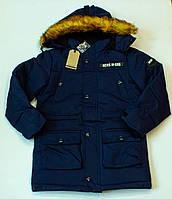 Зимова куртка на хлопчика (ріст 146.152.1 см)