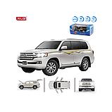 ✅Машинка металева Toyota Land Cruiser 200 світло, звук, 1:24, фото 6