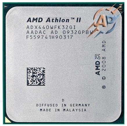 Процессор AMD Athlon II X3 440 3.0GHz 2000MHz (ADX440WFK32GI / ADX440WFK32GM) Socket AM2+/AM3 95W