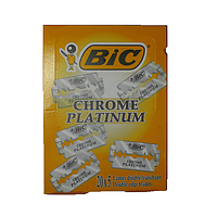 Лезвия BIC Chrome Platinum 100 шт (Греция)