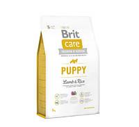 Сухой корм для щенков всех пород Brit Care Puppy All Breed Lamb & Rice 3 кг
