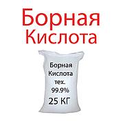 Борная кислота, ортоборная кислота, 25кг