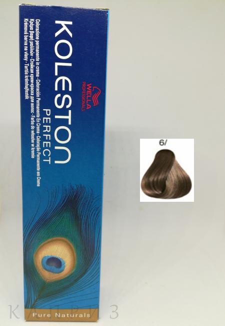 Крем-краска Wella Professionals Koleston Perfect 6/, 60 мл