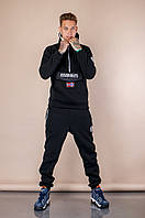 Спортивный костюм. Мужской спортивный костюм Napapijri с капюшоном. ТОП качество!!!Реплика.
