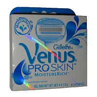 Сменные кассеты Gillette Venus ProSkin 4 шт — Польша,гарантия качества, фото 1