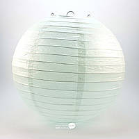Фонарь светло-бирюзовый бумажный, подвесной шар d-30см (28803E)