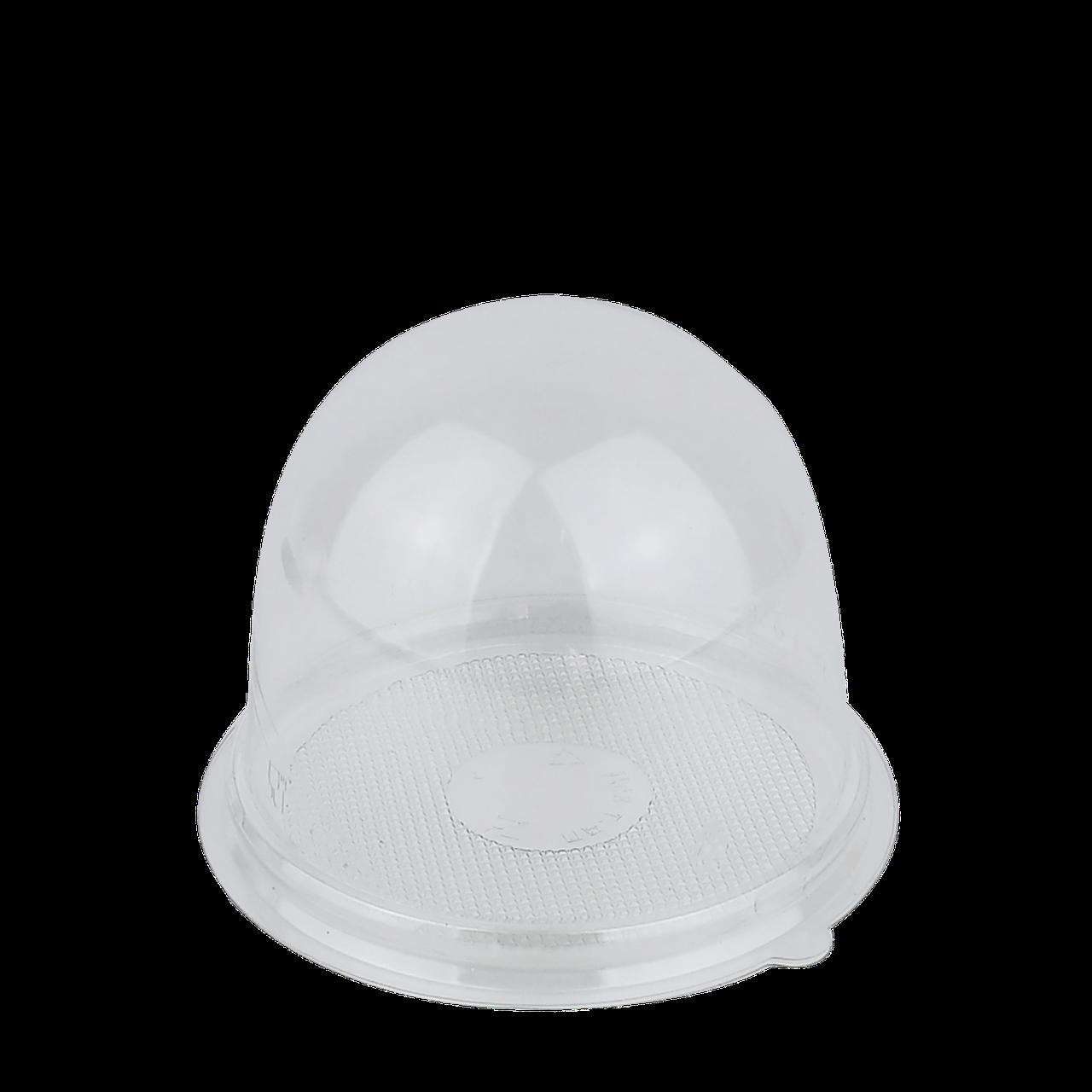 Упаковка с крышкой прозрачная для маффина/макарун,110х82мм(внутренние размеры 90x80мм)(65 шт в уп.)