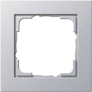 Gira 021125 Рамка установочная 1 пост Gira E2 алюминий