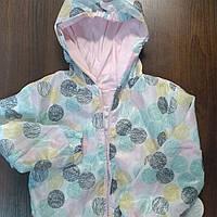 Куртка - ветровка детская для девочки