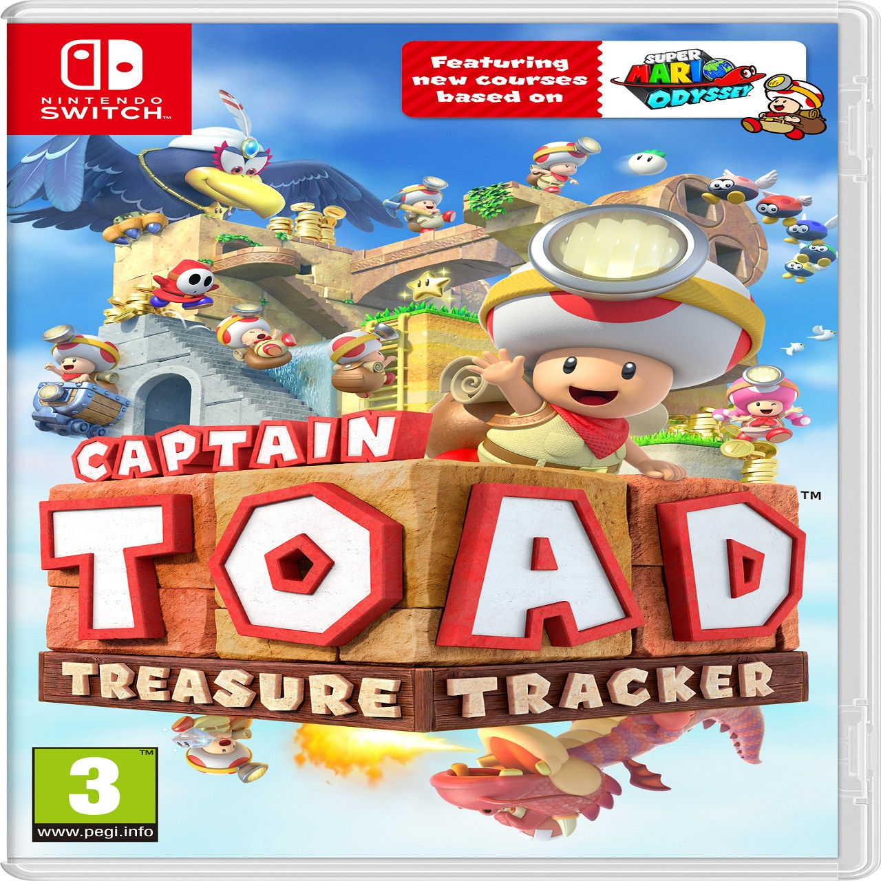 Captain Toad: Treasure Tracker  Nintendo Switch ENG(NEW)