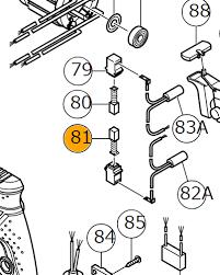 Щетки графитовые G23SF2 комплект Hitachi / HiKOKI 999089