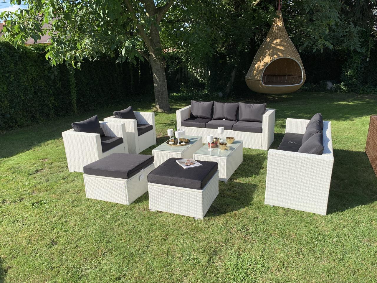 Набор садовой мебели из ротанга Borneo XXL!