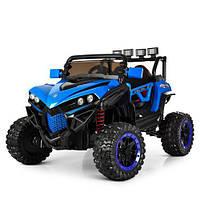 Детский четырёхмоторный электромобиль Багги, M 3804EBLR-4, синий