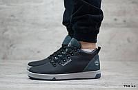 Мужские кожаные ботинки Timbеrland (Реплика) (Код: T18 ч.с  ) ►Размеры [40,41,42,43,44,45], фото 1