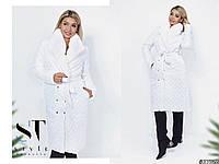 Женское теплое пальто  ВШ1059 (норма / бат), фото 1