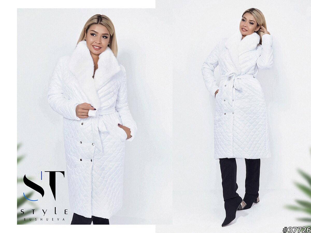 Женское теплое пальто  ВШ1059 (норма / бат)