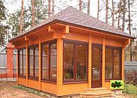 Дачный домик из дерева.Производство,монтаж,доставка. Домики для отдыха под ключ.