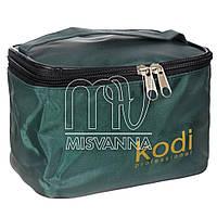 Косметичка Kodi Professional зеленая с ручкой