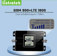 900+1800MHz Усилитель мобильной связи LINTRATEK, Репитер KW17L-GD GSM+DCS 4G 65dB, фото 1