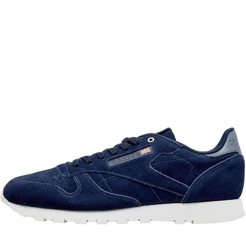Мужские замшевые кроссовки Reebok Classics x Montana Cans Collaboration (CM9609) синие оригинал