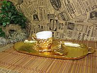 Поднос кофейный в турецком стиле. Металл. Турция., фото 1