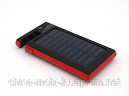 DLS16 Power Bank 54000mAh Solar Charger с солнечной панелью LED светильником  прожектором ,, красный, фото 3