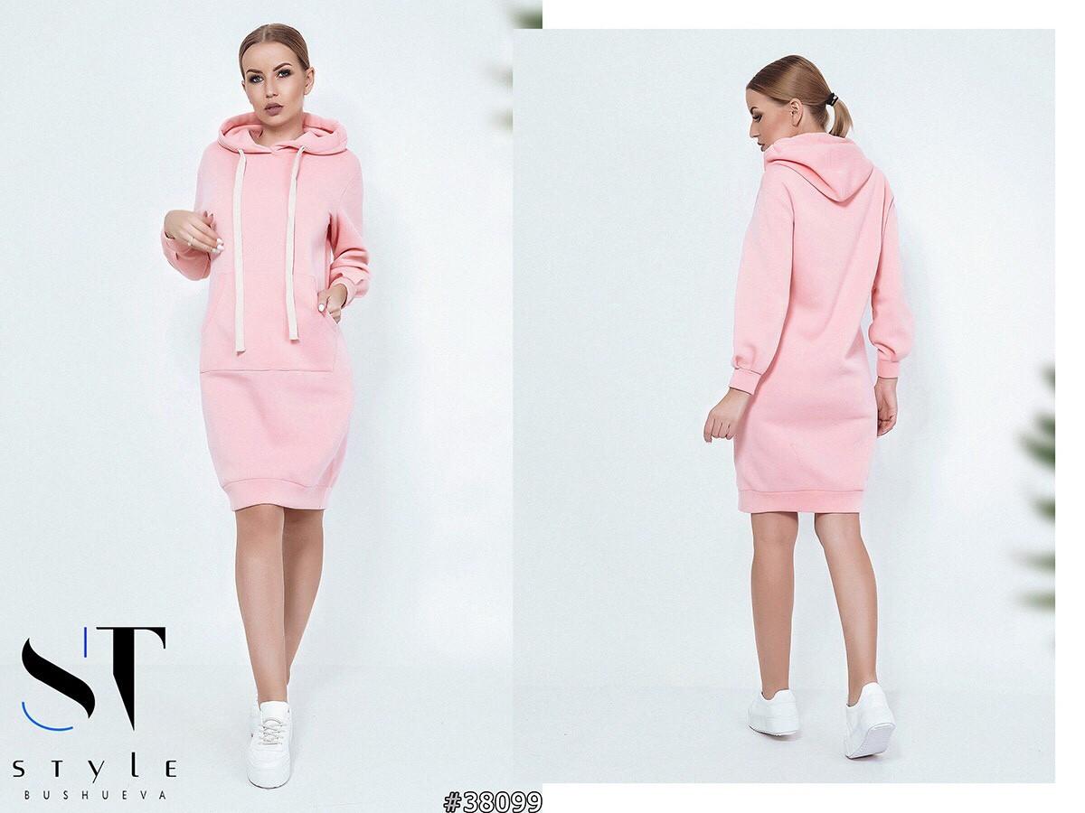 Женская модная туника - свитшот  ВШ1044